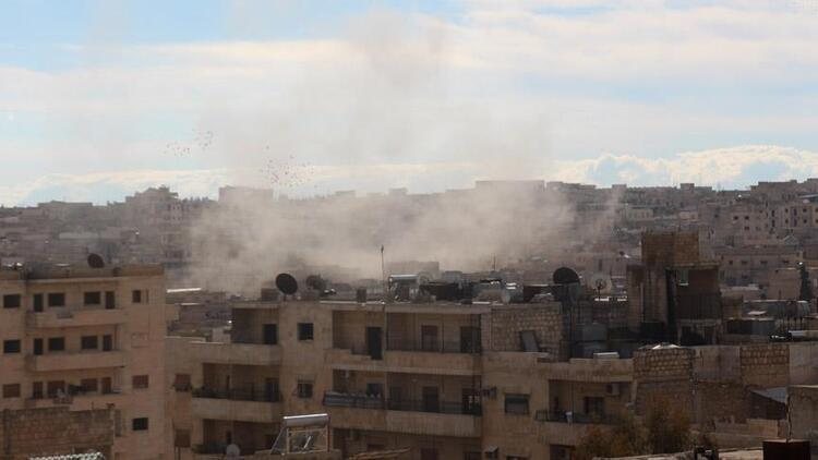 Esed rejiminin İdlib'e saldırısı sürüyor