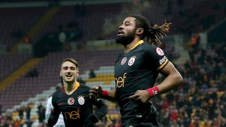 Galatasaray Hatayspor'u 2 golle geçti! Avantaj Aslan'ın