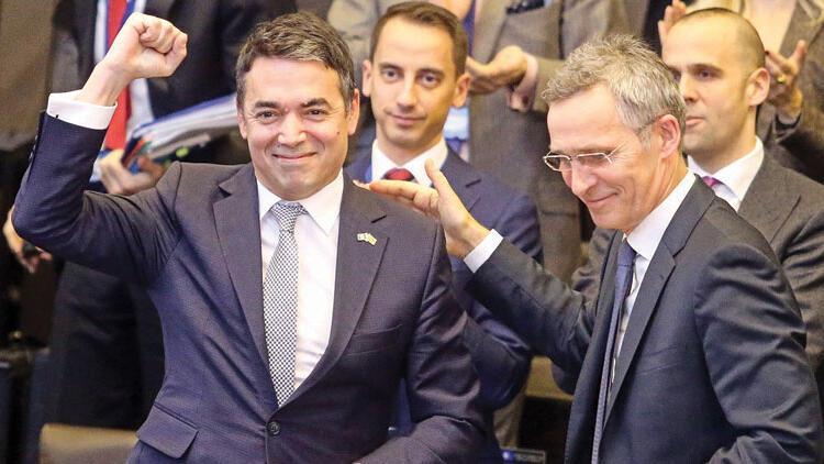 NATO'ya ilk adım