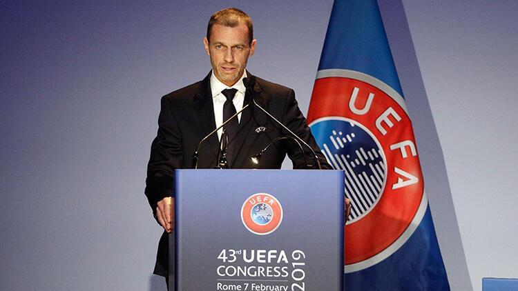Aleksander Ceferin yeniden UEFA başkanı
