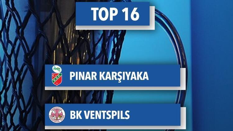 Pınar Karşıyaka, FIBA Avrupa Kupası'nda Ventspils ile eşleşti!