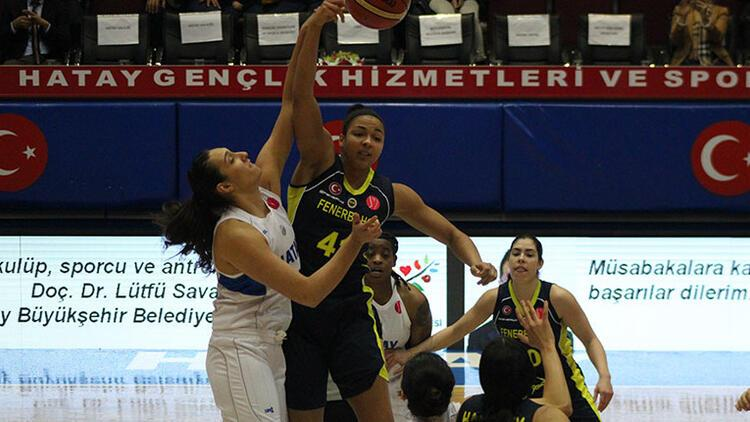 Fenerbahçe, Hatay'ı farklı geçti
