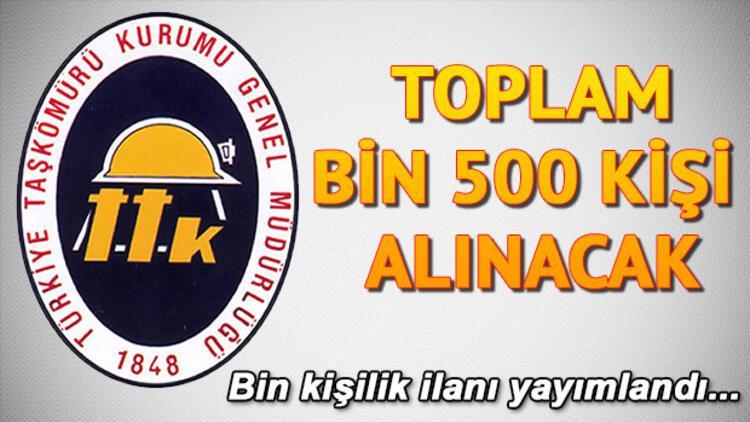 Türkiye Taşkömürü Kurumu işçi alımı başvurusu nasıl yapılır?