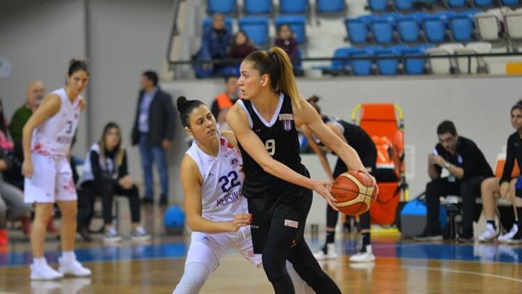 Beşiktaş Kadın Basketbol Takımı, Mersin'den eli boş döndü!