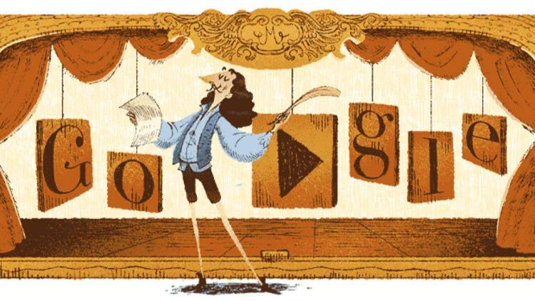 Moliere Google'a Doodle oldu