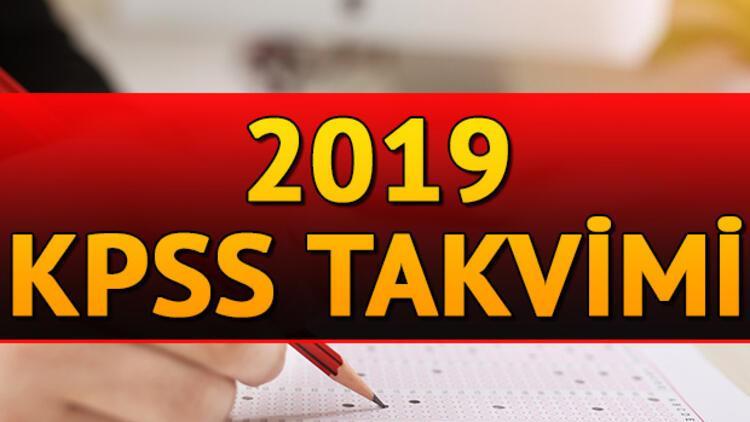 2019 KPSS başvuruları ne zaman başlayacak? İşte KPSS sınav ve başvuru tarihleri