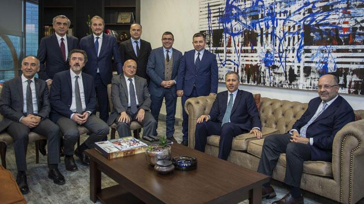 İstanbul Valisi Ali Yerlikaya'dan Demirören Medya'ya ziyaret