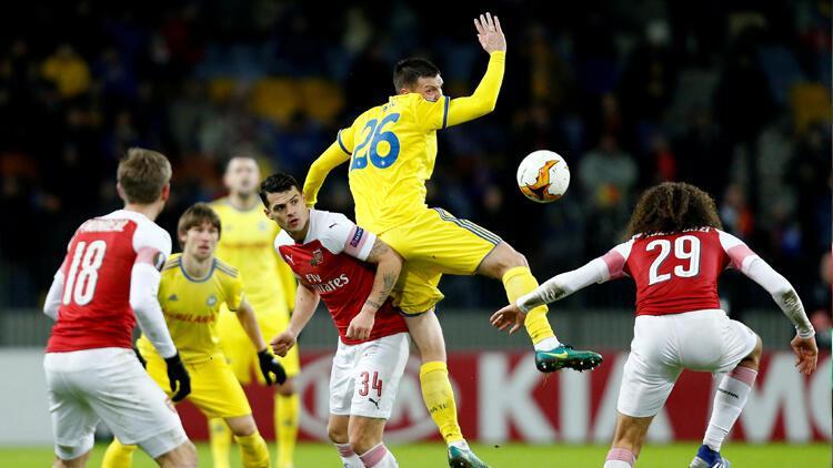 Arsenal, Belarus'tan çıkamadı
