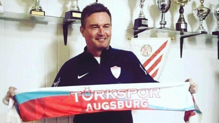 Augsburg Türkspor'un yeni hocası Manfred Bender
