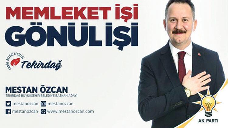 CHP sloganın sitesiniAK Partili adaya kaptırdı