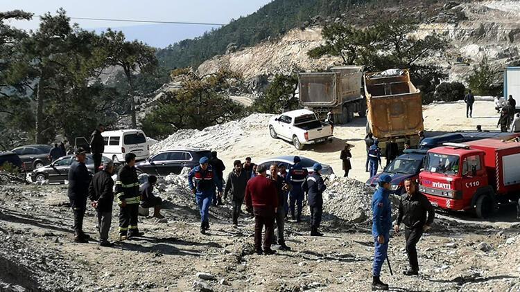 Son dakika: Milas'taki maden faciasında çalışmalar devam ediyor