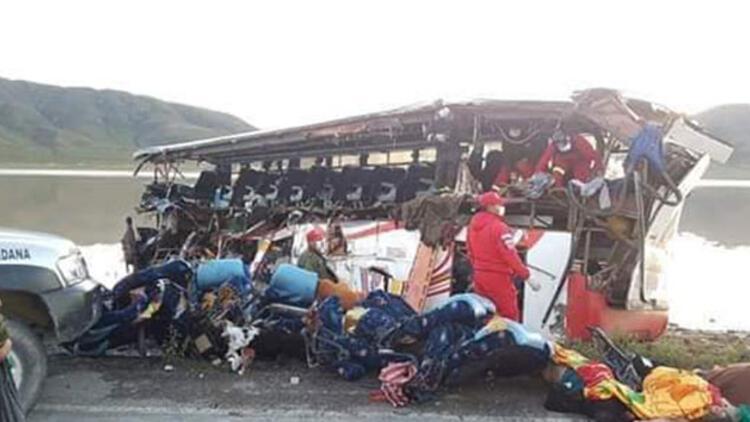 Bolivyada feci kaza, çok sayıda ölü