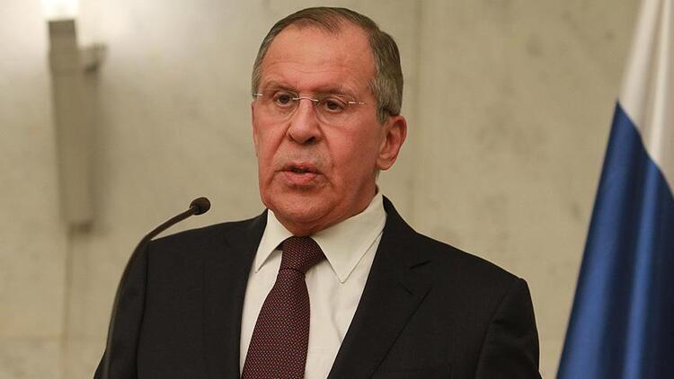 Lavrov'dan dikkat çeken Suriye açıklaması