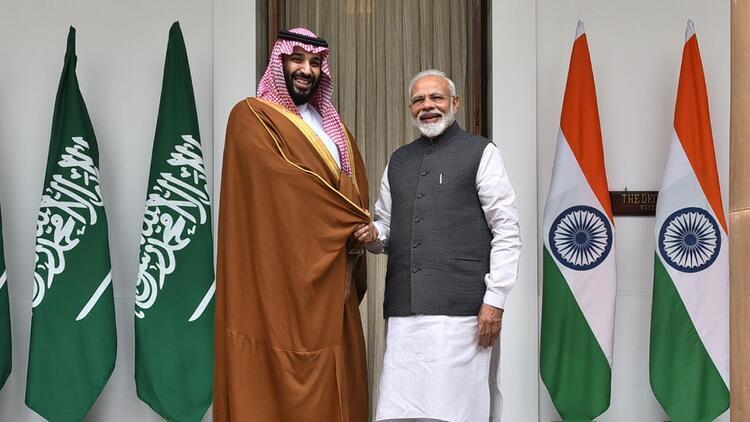 Suudi Arabistandan Hindistana 100 milyar dolarlık yatırım