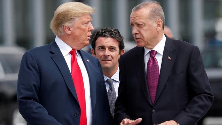 Son dakika... Cumhurbaşkanı Erdoğan ile Trump arasında kritik görüşme