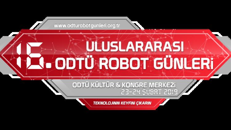 ODTÜ Uluslararası Robot Günleri başladı