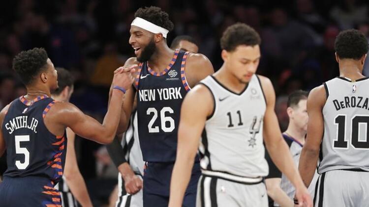 New York Knicks, evinde 18 maç sonra kazandı!
