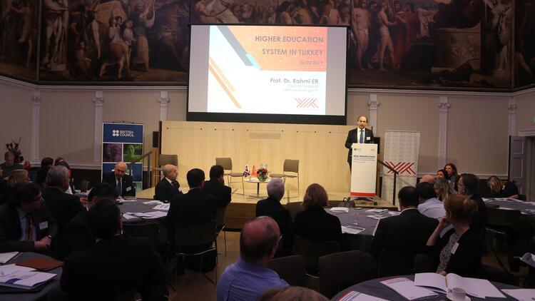 YÖK ve British Council'dan Londra'da ortak forum