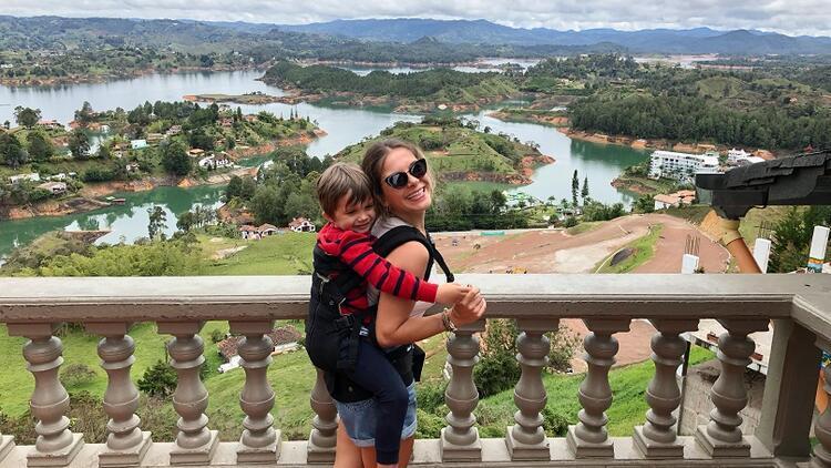 Dört yaşındaki Efe'yle tam 740 basamak tırmandık