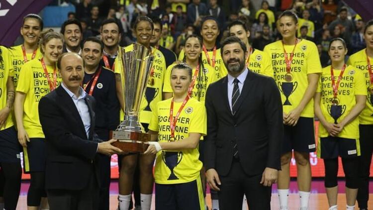 Kadınlar Türkiye Kupası, Fenerbahçe'nin!