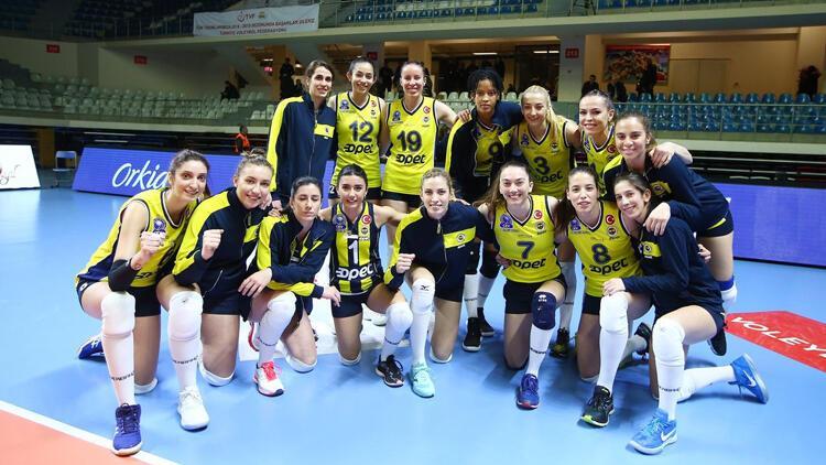 Fenerbahçe Opet, set vermedi