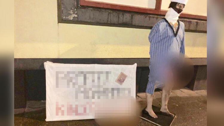 Hollanda'da camiye çirkin saldırı