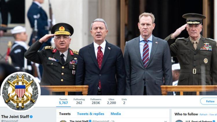 ABD Genelkurmay Başkanlığı kapak fotoğrafını güncelledi