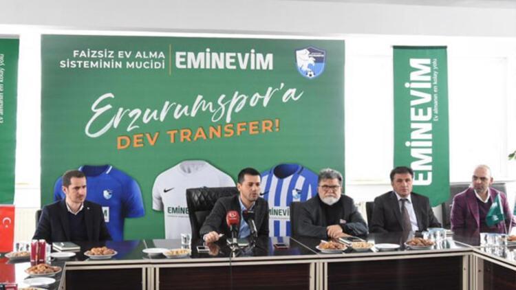 Erzurumspor'a dev transfer