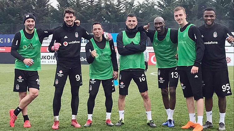Beşiktaş'ta Konyaspor hazırlıkları devam etti