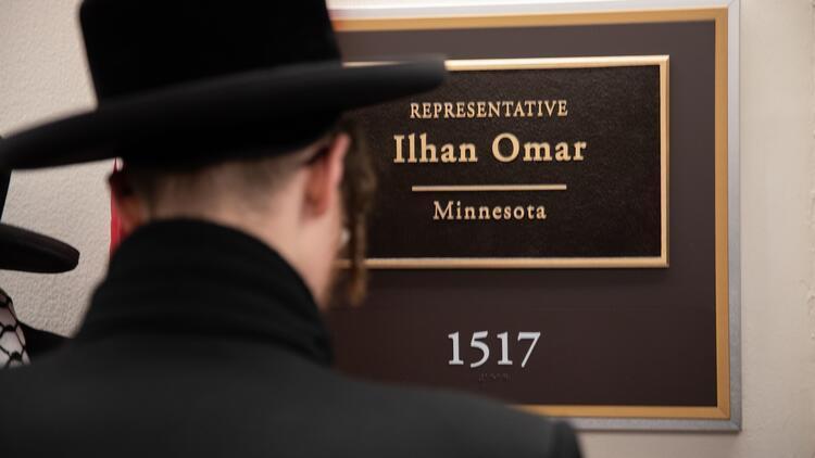ABD'de Siyonizm karşıtı Yahudiler'den Ilhan Omar'a destek ziyareti