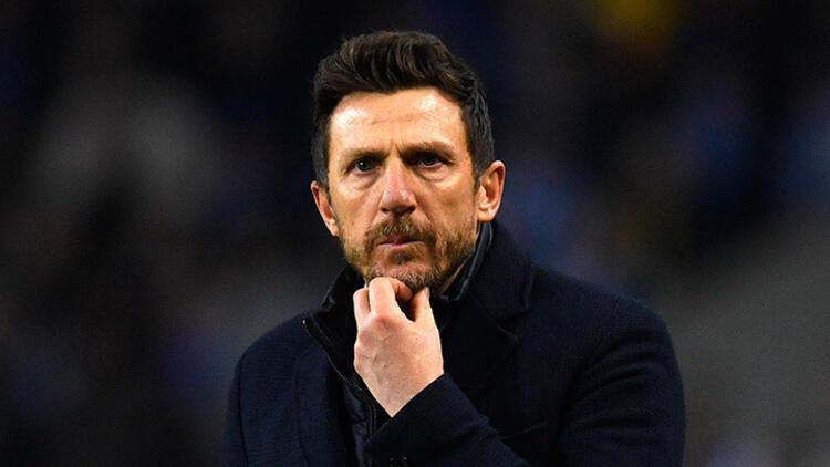 Roma'nın hocası Eusebio Di Francesco'dan istifa kararı!