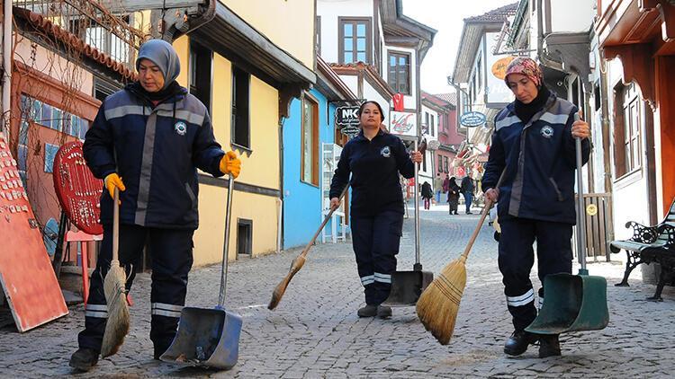 Eskişehir kadınlar sayesinde daha temiz