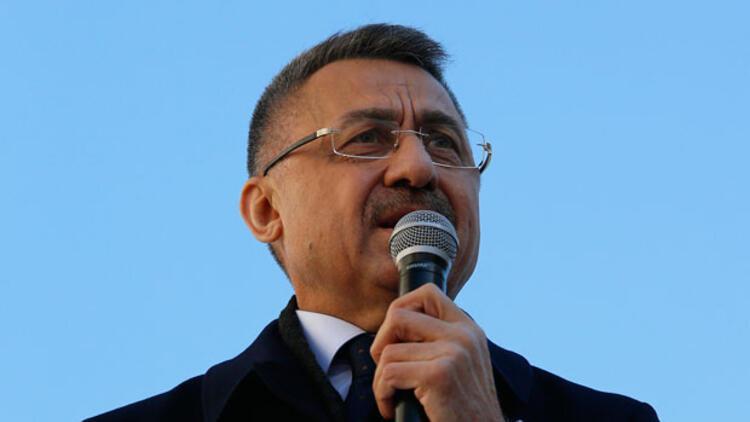 Cumhurbaşkanı Yardımcısı Fuat Oktay: 'Türkiye hep ileri gidip büyüdü'