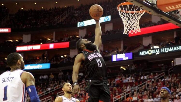 Harden'dan 31 sayı, Rockets'tan üst üste 7. galibiyet!