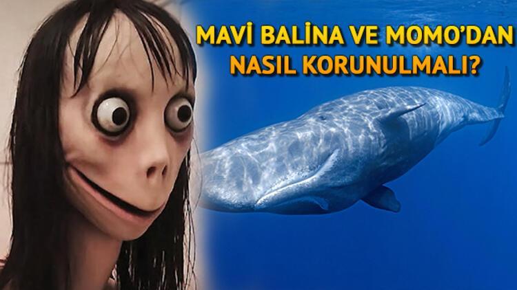 İnternetin korkulu rüyası Momo ve Mavi Balina nedir?