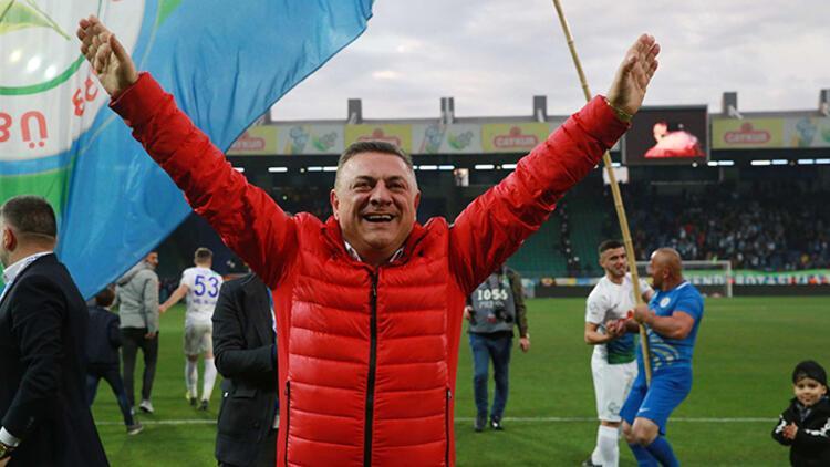 Çaykur Rizespor Kulübü Başkanı Kartal: 'Okan hoca ile devam etmenin faydalı olacağını düşünüyorum'