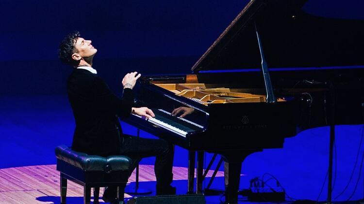 Dünyanın en hızlı piyanisti Maksim Mrvica İstanbul'da