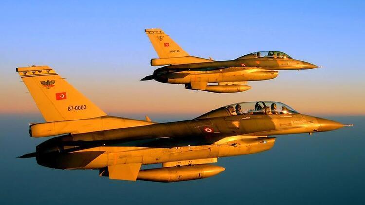 Kuzey Irak'a hava harekatı: Hedefler imha edildi