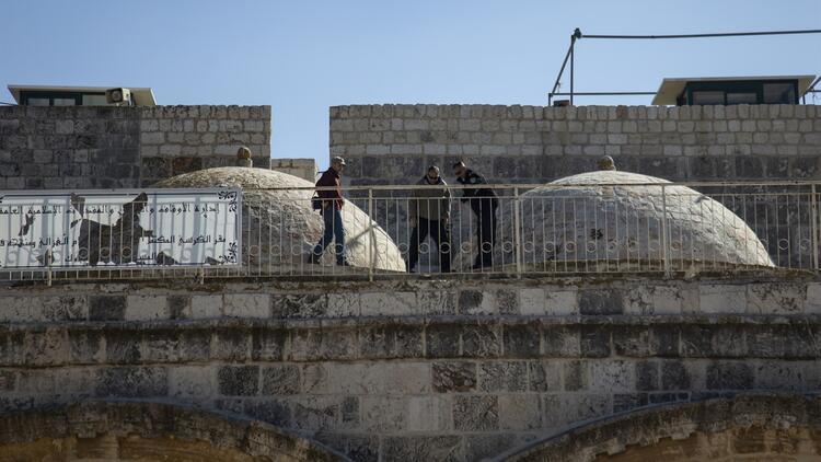 Son dakika... İsrail Harem-i Şerif'in bazı kapılarını kapattı