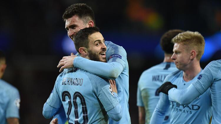 Manchester City Schalke'ye fırsat vermedi!: 7-0