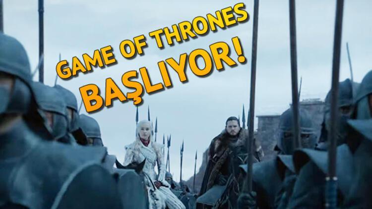Game Of Thrones 8. sezon ne zaman yayınlanacak? İşte yeni fragman