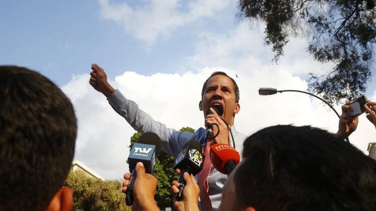 Venezuela'da muhalif lider Guaido'ya elektrik sistemine sabotaj soruşturması