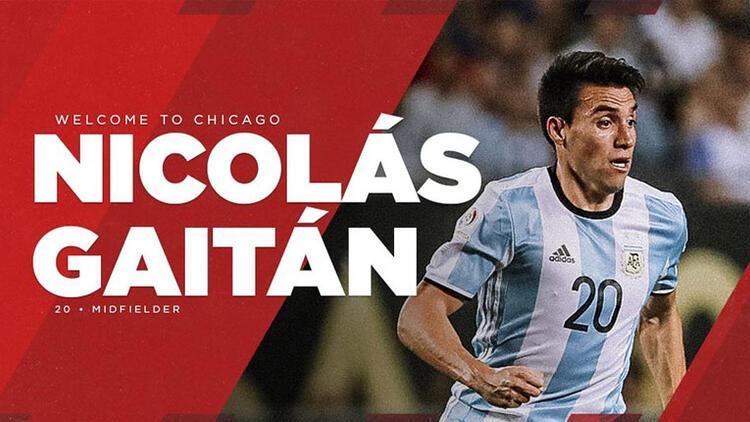 Gaitan MLS'e transfer oldu