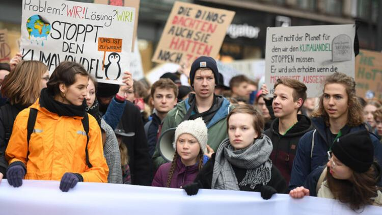 Genç iklim aktivisti Thunberg, Nobel Barış Ödülü'ne aday gösterildi
