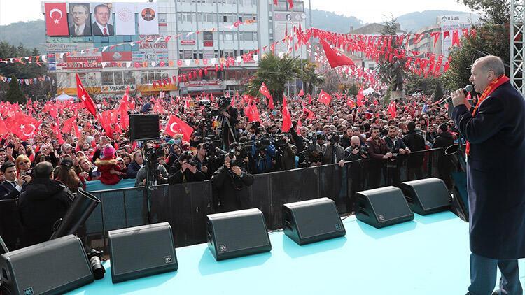 Son dakika: Cumhurbaşkanı Erdoğan, Kuzey Marmara Otoyolu Açılış Töreni'nde konuştu