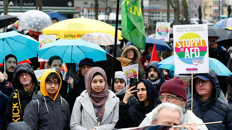 Almanya, Londra, Avusturya ve Hollanda ırkçılığa karşı yürüdü