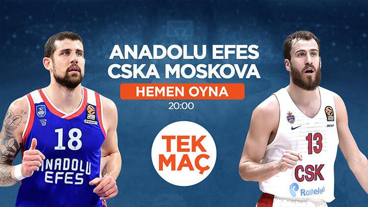 """Anadolu Efes - CSKA Moskova"" maçında MBS1 fırsatı! iddaa'da banko..."