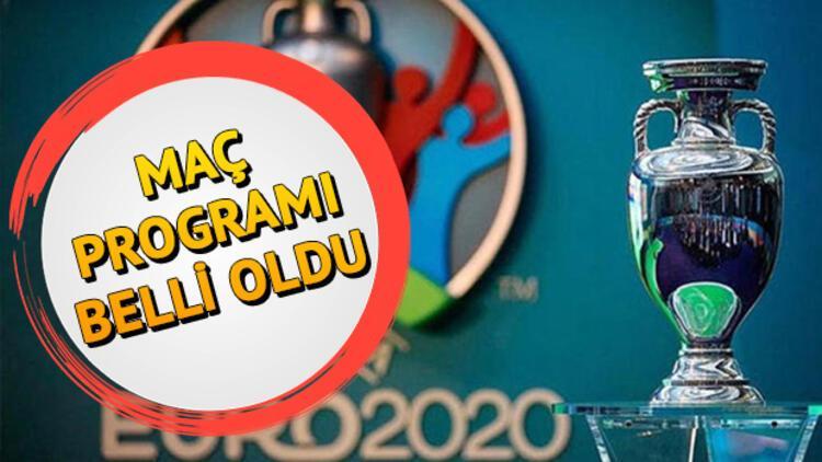 EURO 2020 maç programı belli oldu! EURO 2020 maçları ne zaman?