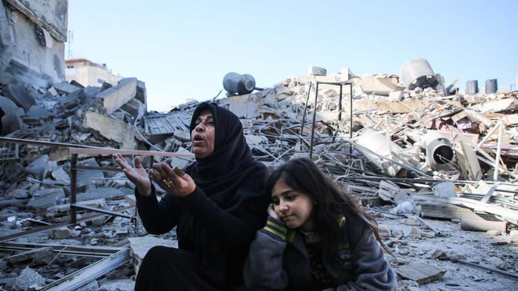 İsrail saldırılarında 500 konut zarar gördü