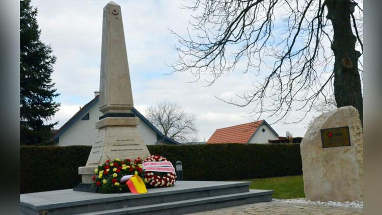 Avusturya'daki Türk şehitleri anıldı